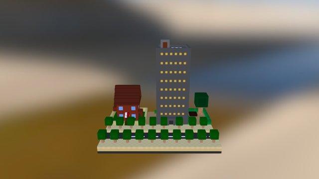 Ville 3D Model