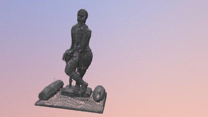 Statue Kaernten 3D Model