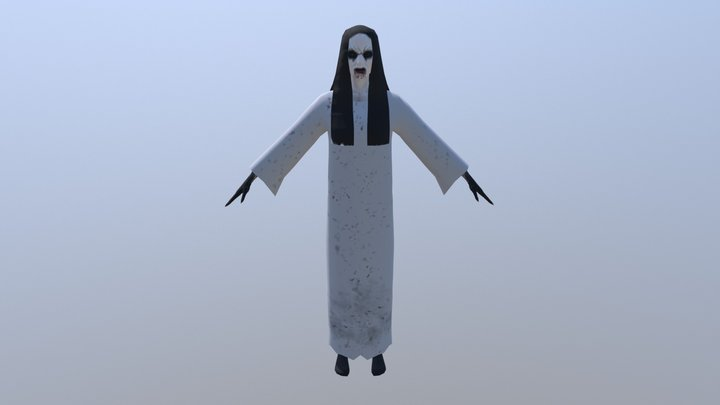 Character - Ghost Lady 3D Model