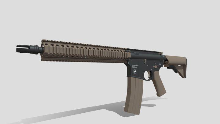 Mk.18 CQB 3D Model