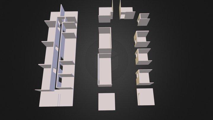 107 type 3 3D 3D Model