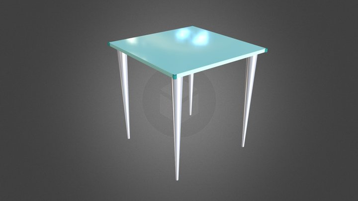 Table Example 3D Model