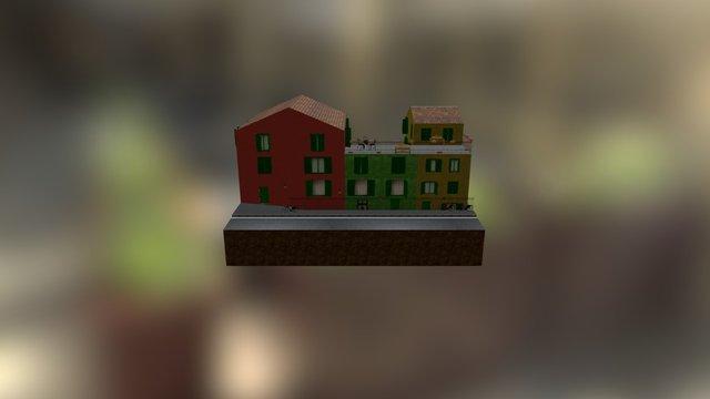 CityScene portofino 3D Model