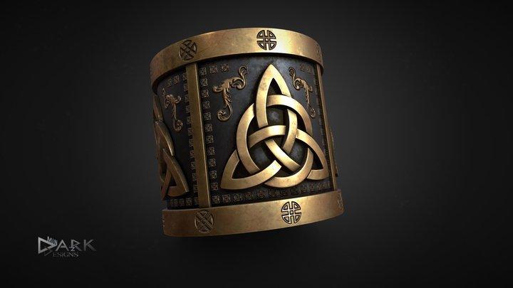 Viking Ring 3D Model