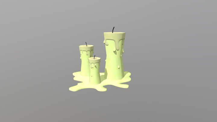 Fable II Asset Pack - Candles 3D Model