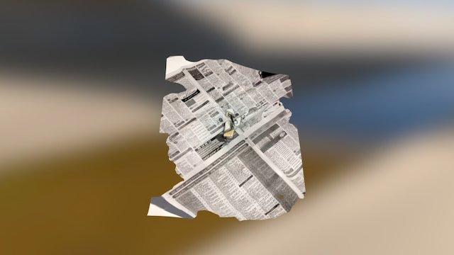 Broken drone 3D Model