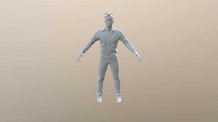 Man 4 3D Model
