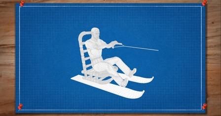 Brojects Season 1: The Chair Ski, Mk. I 3D Model