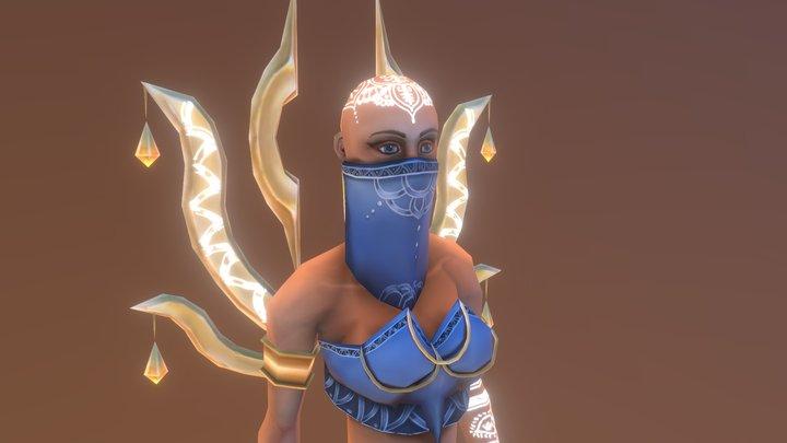 Adrianna, Priestess of Selene 3D Model