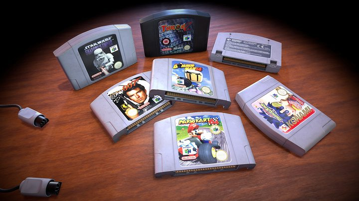 Nintendo Nostalgia 3D Model