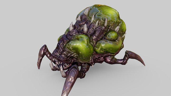 StarCraft - Baneling 3D Model
