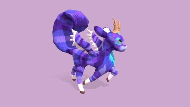 Fantasy Animal 3D Model