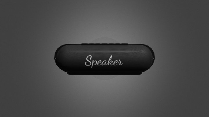 Bluetooth Speakers GameReady- LowPoly PBR 3D Model