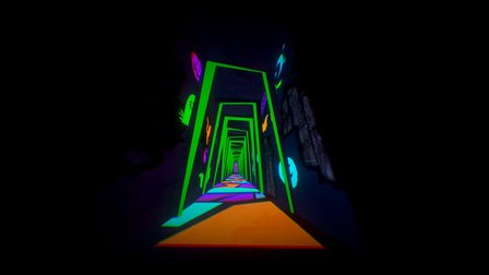 [Download] (Glow in the dark test) Haunted House 3D Model