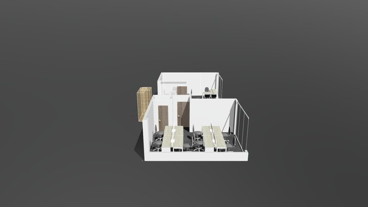 DAMPA Madera Intermedia 3D Model