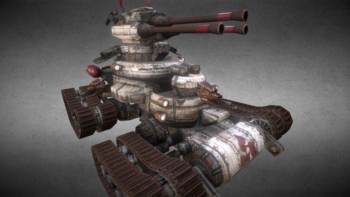 Devastator Tank 3D Model