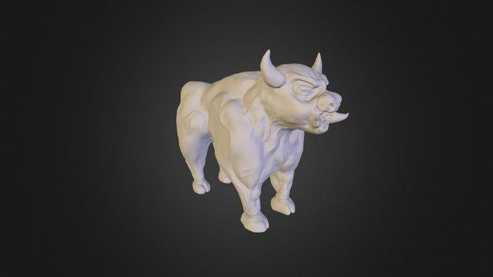 ugly bull thing 2012 3D Model