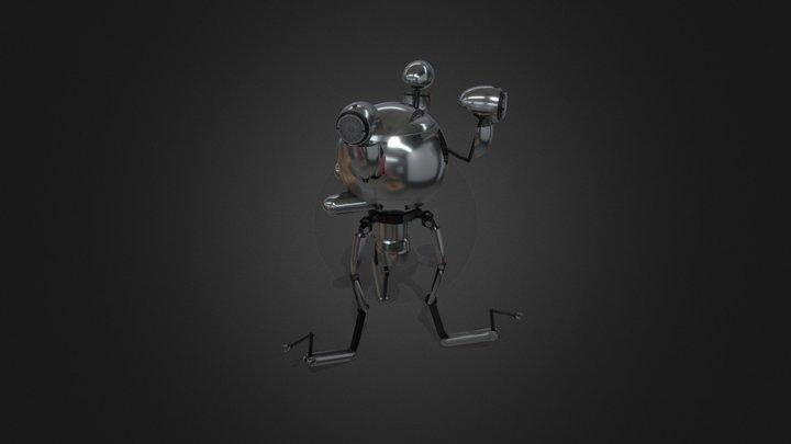 Mr Handy 3D Model