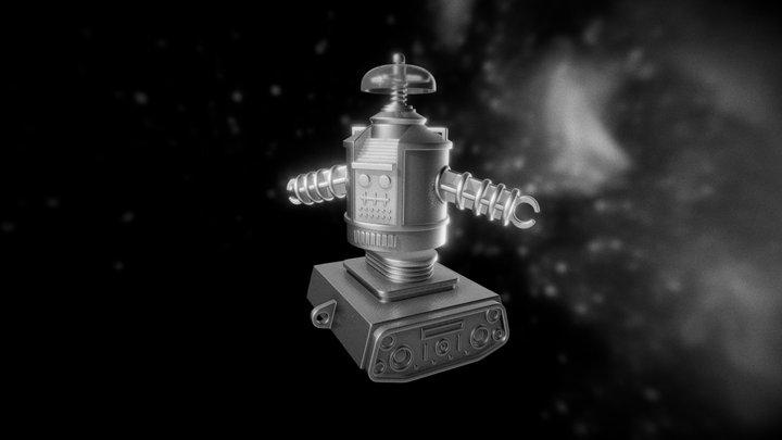 Retro B9 Toy Reproduction 3D Model