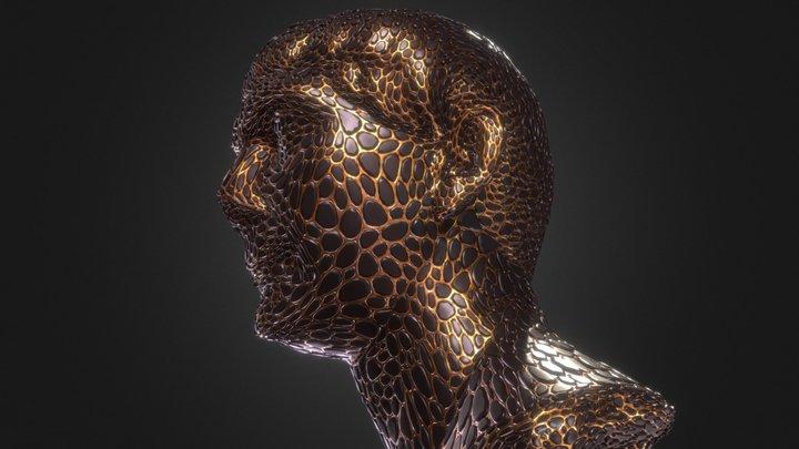 Trajan Bust Remix 3D Model