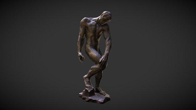 Adam, Rodin 3D Model