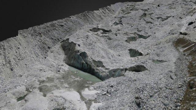 Llaca Glacier UAV Survey July 2015 3D Model