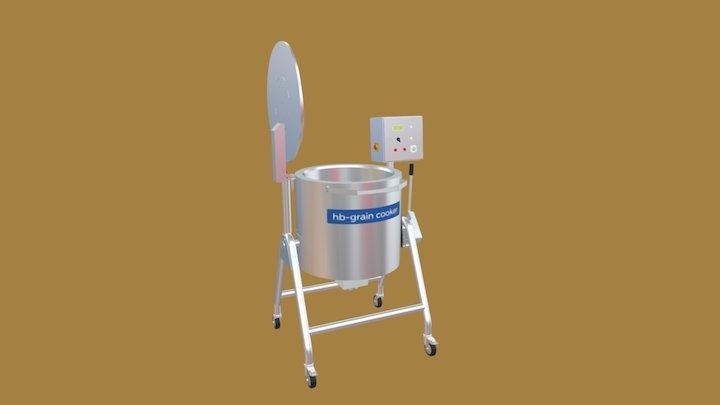 HB - GRAIN COOKER 3D Model