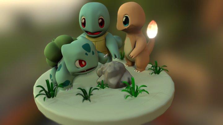 Pokemon GO! 3D Model