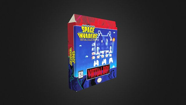 Space Invaders Box 3D Model