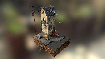Little French house 3D Model