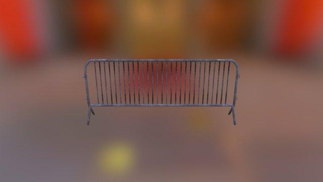 Free Barricades 3D Model