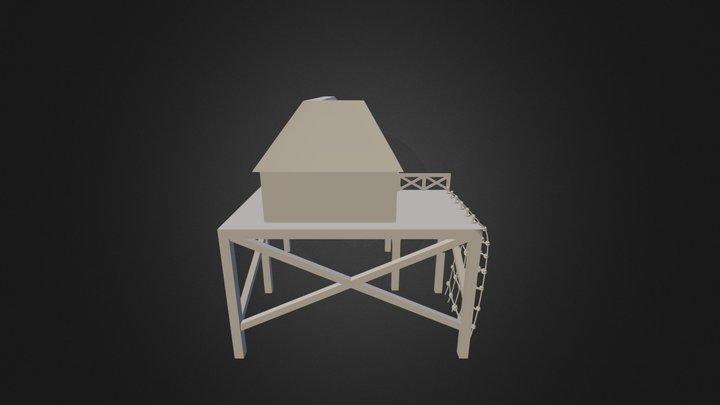 ROA Fire Bungalow Wenkrogg 3D Model