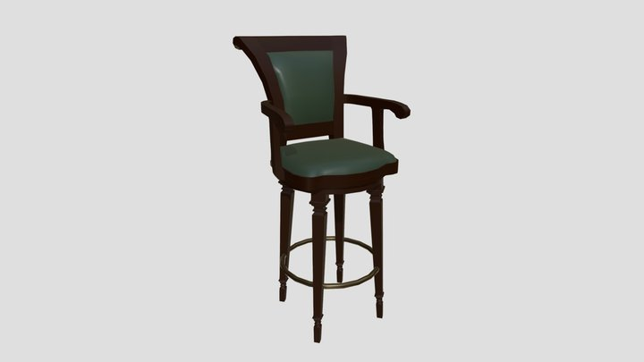 Tsishir's Chair 3D Model