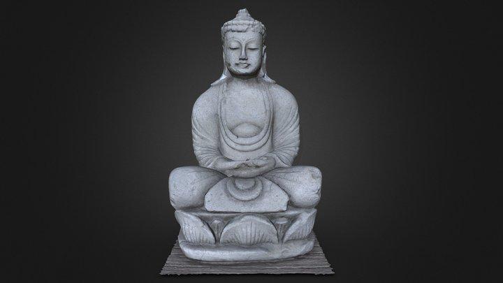 Buddha - 100K Vertices Decimation 3D Model