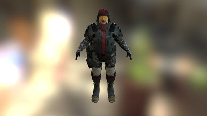 Full Character 3D Model