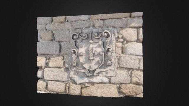 Escudo da Coruña 3D Model