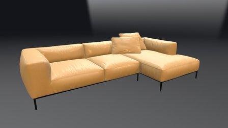 Sofa - Next Gen Asset 3D Model