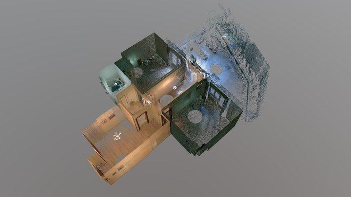 Appartamento Trastevere 3D Model