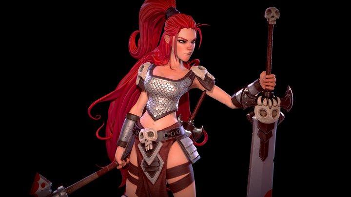 Red Sonja 3D Model