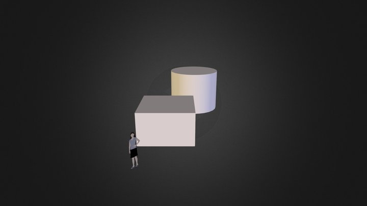 cub i cilindre 3D Model