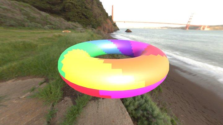 seven-color torus 3D Model