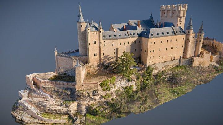 Alcazar of Segovia, Spain (12th Century) 3D Model