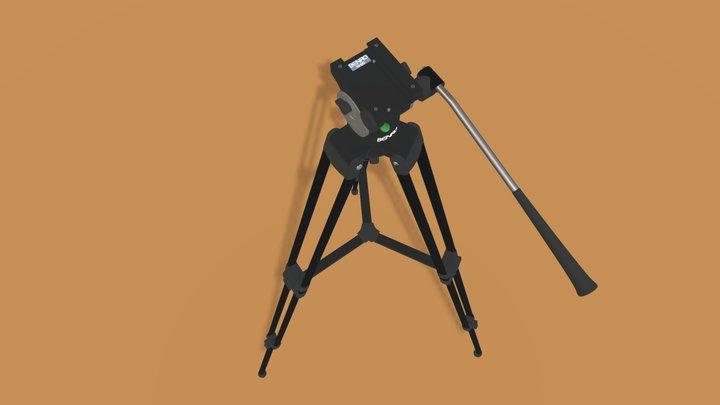 BENRO KH25RM Video Tripod 3D Model