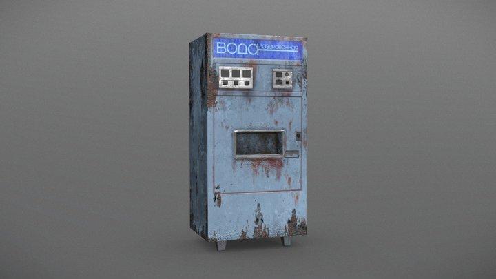 USSR Soda Machine First Low 3D Model