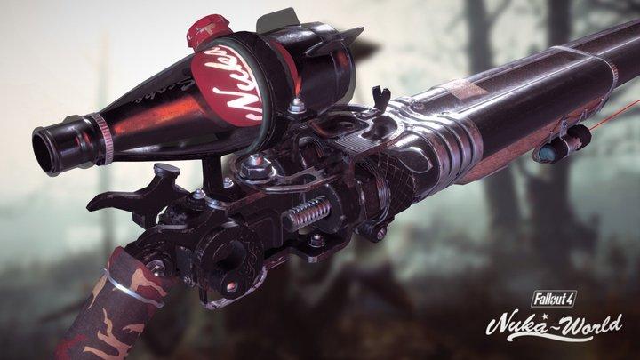 Fallout Nuka Shotgun 3D Model