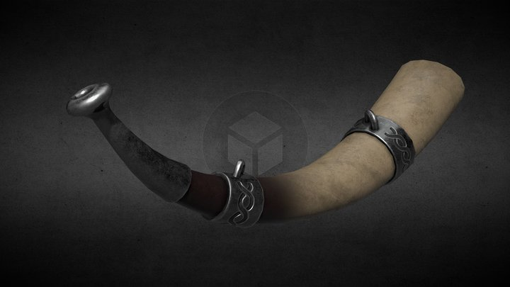 Viking Horn 3D Model