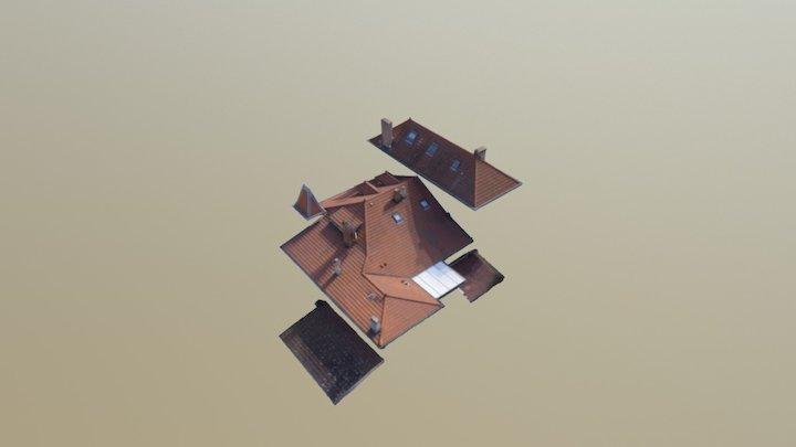 Relevé Toiture 3D Model