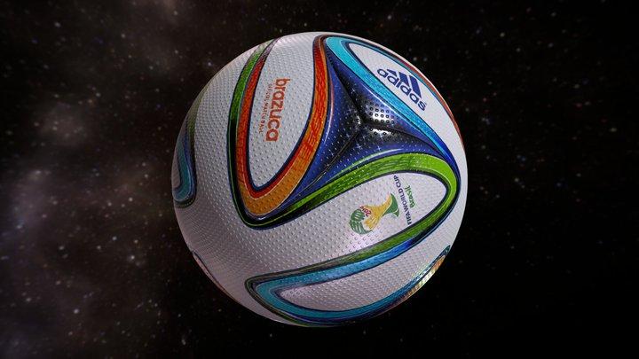 Brazuca Soccer Official World Cup 2014 3D Model