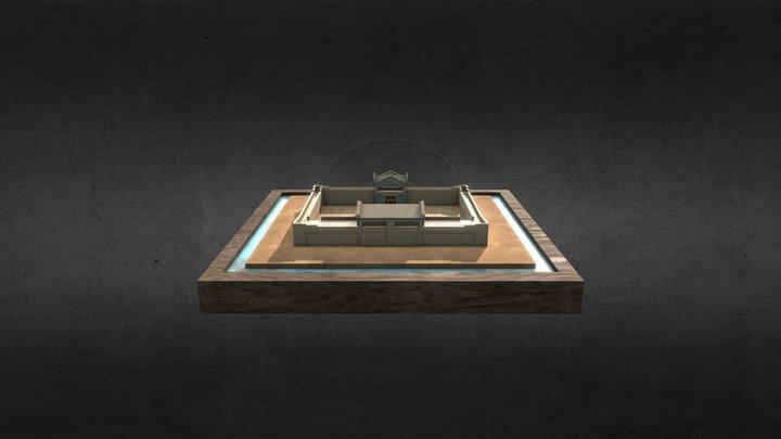 Ancient Barrack 3D 3D Model