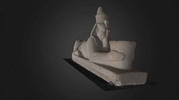 Sphinx of Senkamanisken Kushite (2) 3D Model